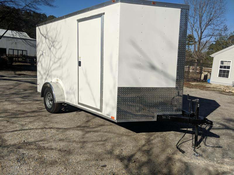 2019 Empire Cargo 7x12 Enclosed Cargo Trailer
