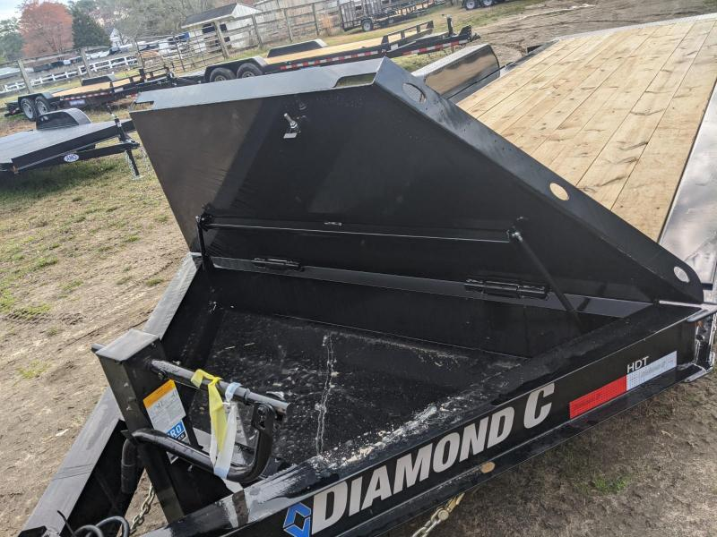 2020 Diamond C Trailers HDT 20' FULL DAMP TILT V-LID Equipment Trailer