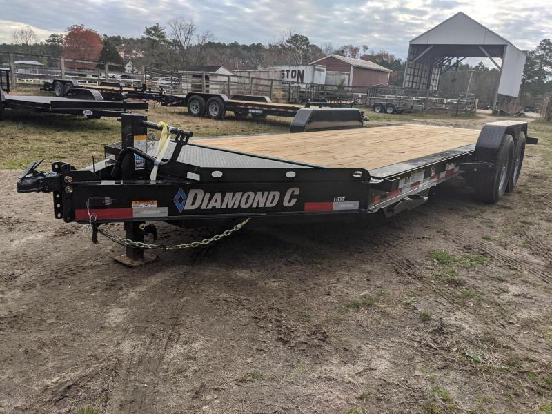 2020 Diamond C Trailers HDT 20' FULL DAMP TILT V-LID Equipment Trailer