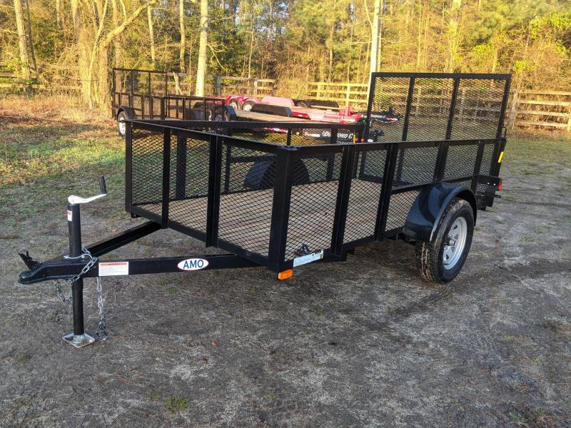 2020 American Manufacturing Operations (AMO) 5X10 HIGH SIDES Utility Trailer