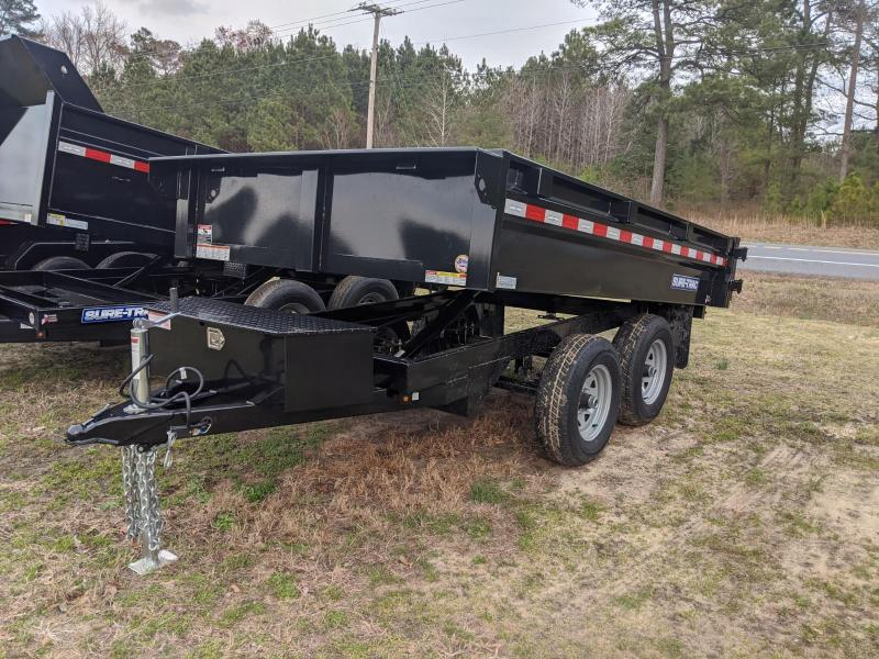 2020 Sure-Trac 72 IN X 10 Deckover Dump 10K Single Ram