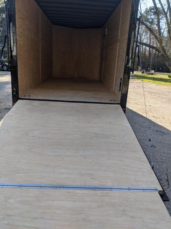 2020 Spartan Cargo 7X16 BLKOUT Enclosed Cargo Trailer