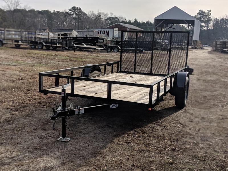 2020 American Manufacturing Operations (AMO) 76X12 Utility Trailer