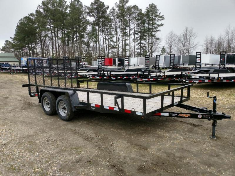 2018 Down 2 Earth Trailers 82X16 Utility Trailer
