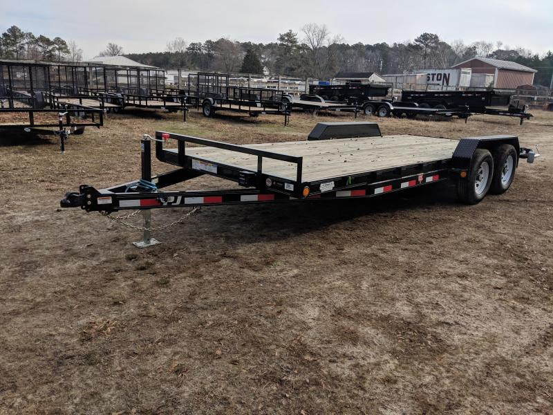 2020 PJ Trailers CE 20 Equipment Trailer