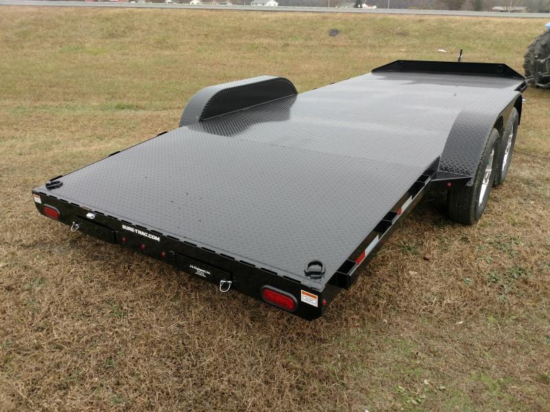 2020 Sure-Trac 7 x 20 Steel Deck Car Hauler  10k