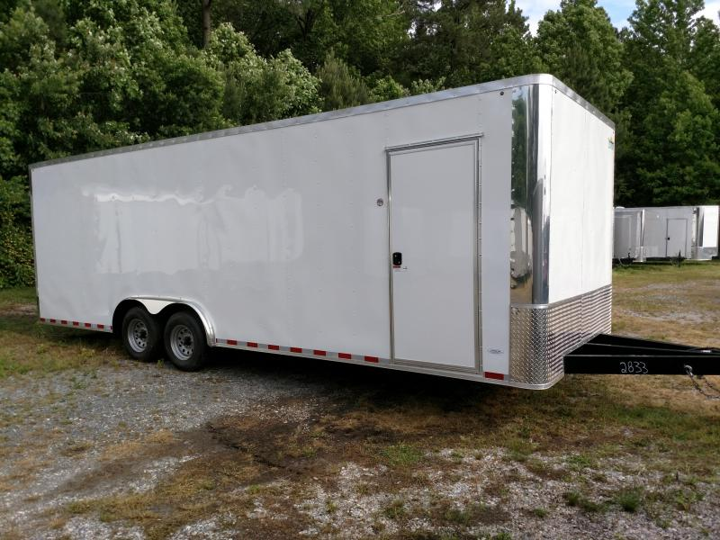 2019 Arising 8.5x24 10k Coffin Front Car / Racing Trailer