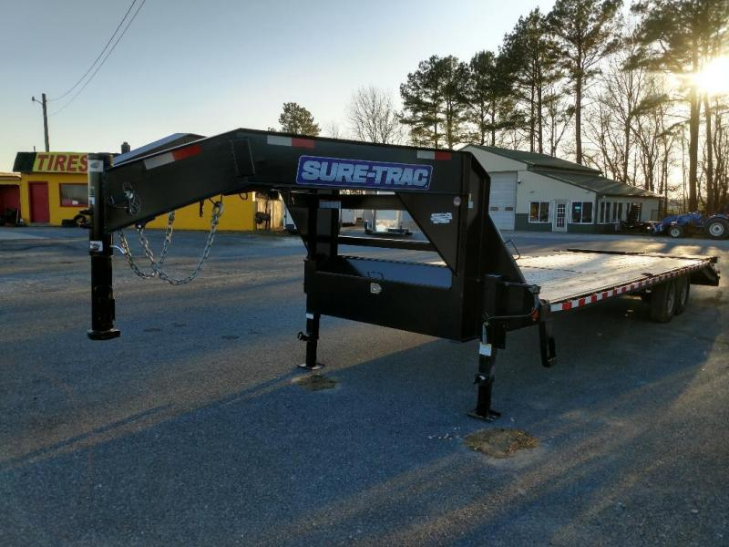 2019 Sure-Trac 28'GN Equipment Trailer