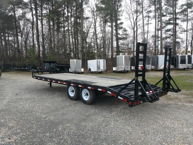 2020 PJ Trailers F822 Equipment Trailer
