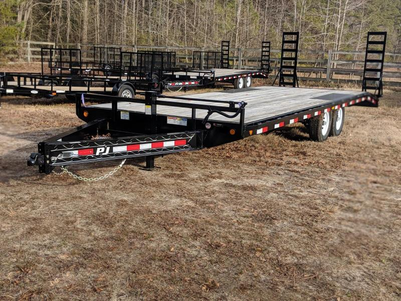 2020 PJ Trailers F824' Equipment Trailer