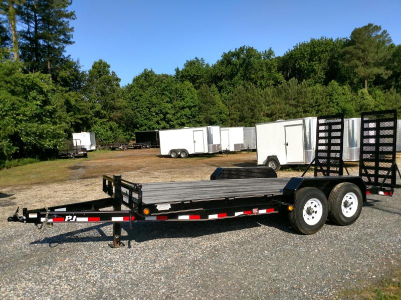 2020 PJ Trailers CC 18ft Equipment Trailer