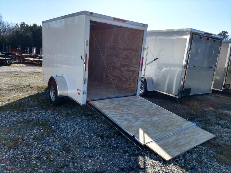 2020 Freedom Trailers 6X10 Enclosed Cargo Trailer