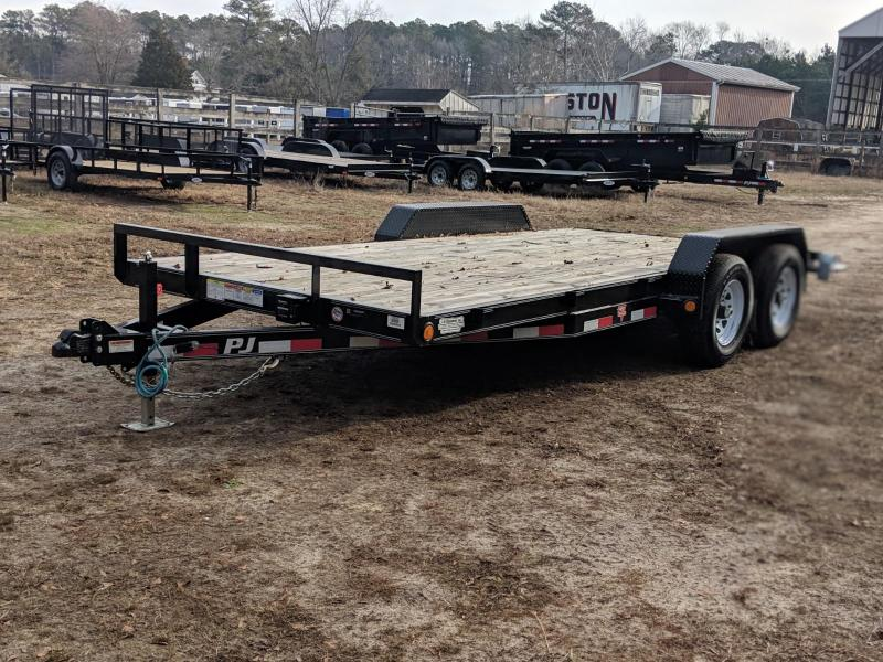 "2020 PJ Trailers 18'x5"" Channel Equipment Trailer"