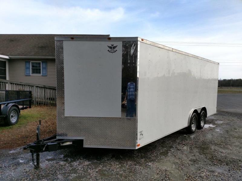 2019 Empire Cargo 85X20TA2 Enclosed Cargo Trailer