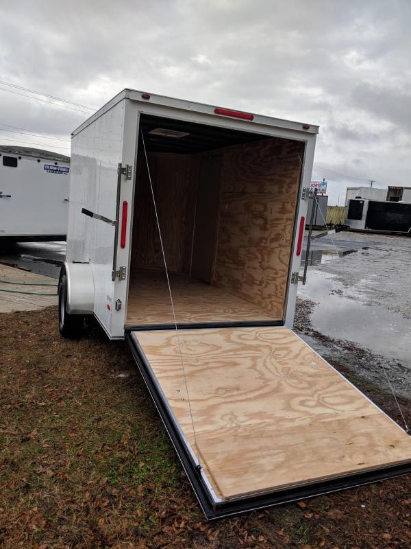 2020 Freedom Trailers 6X10SA Enclosed Cargo Trailer