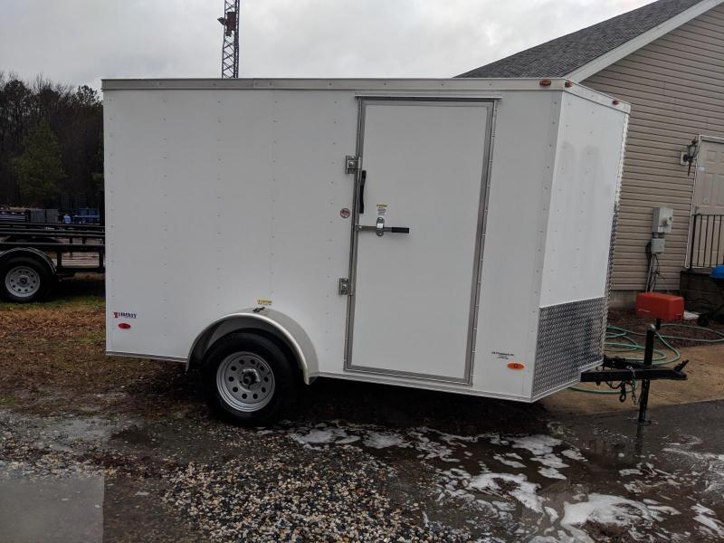 2020 Freedom Trailers 6X10SA Enclosed Cargo Trailer