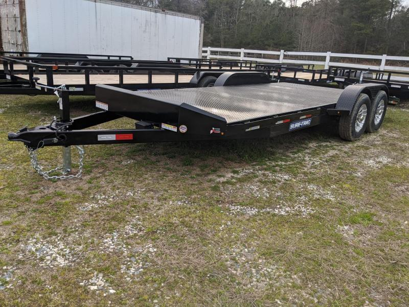 2020 Sure-Trac 7 x 20 Steel Deck Car Hauler  10k