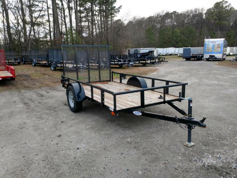 2020 American Manufacturing Operations (AMO) 66X10 Utility Trailer