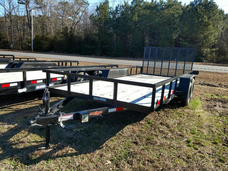 2018 Down 2 Earth Trailers 82X18 Utility Trailer