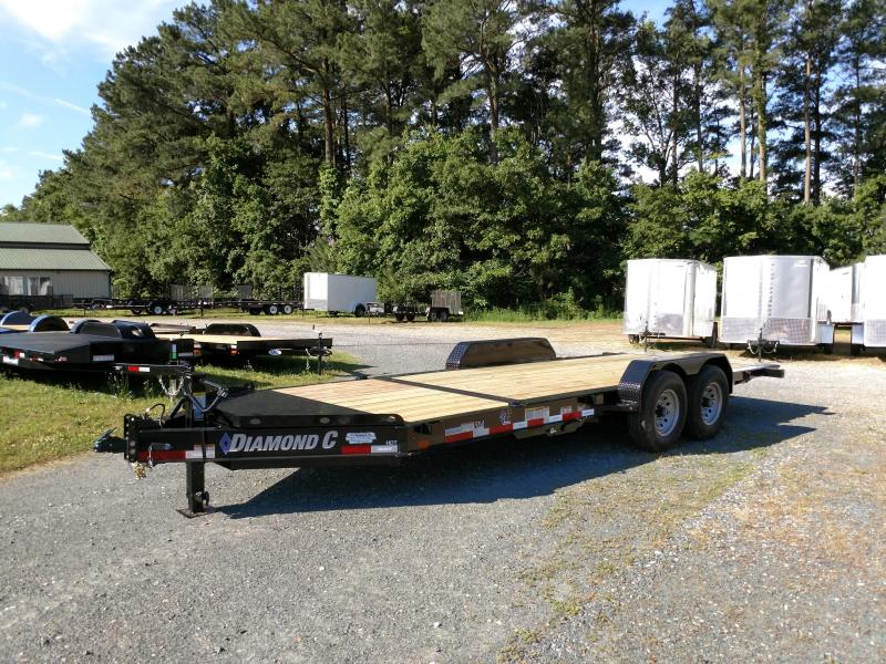 2019 Diamond C Trailers HDT 20ft Partial Tilt Equipment Trailer