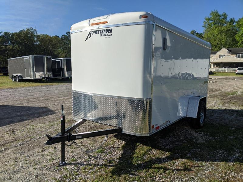 2020 Homesteader 6X12 HERC Enclosed Cargo Trailer