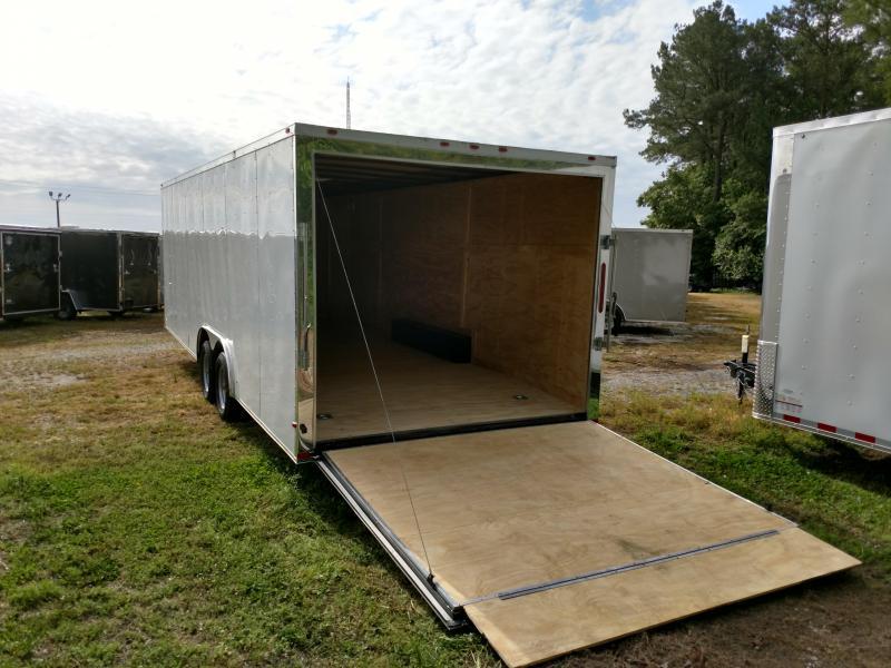 2019 Empire Cargo 8.5x24 7k Flat Front Car / Racing Trailer