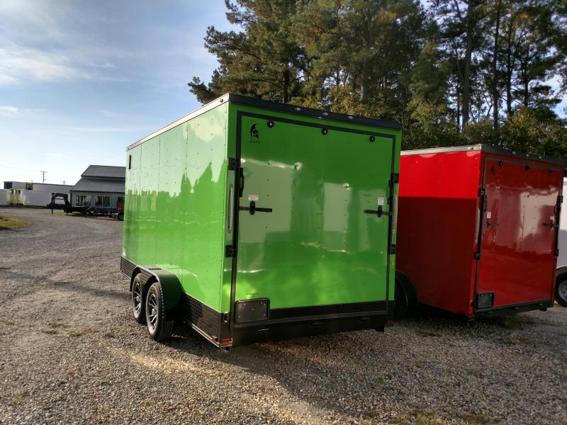 2020 Spartan 7x16 Blackout Enclosed Cargo Trailer