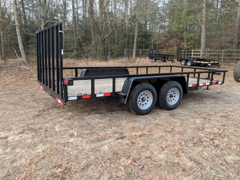 2019 Down 2 Earth Trailers 82X16 Utility Trailer
