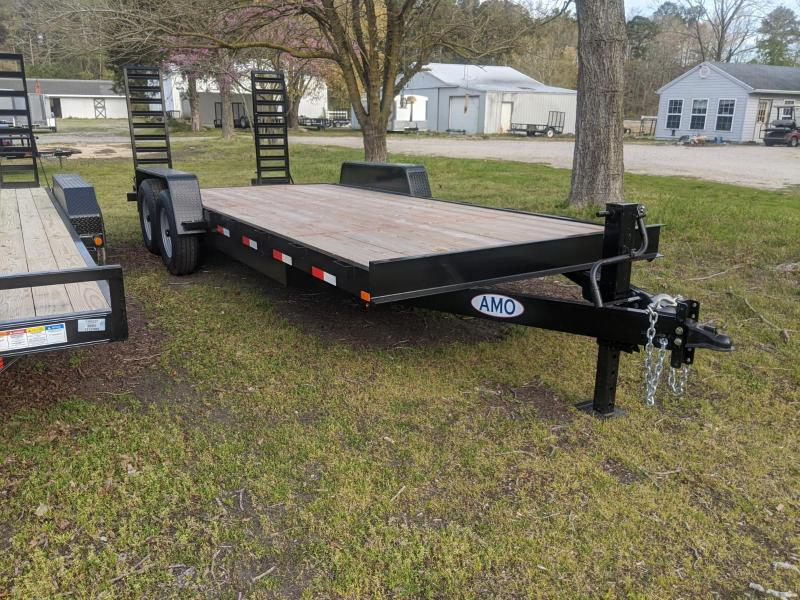 2020 American Manufacturing Operations (AMO) 82X20 12K Equipment Trailer