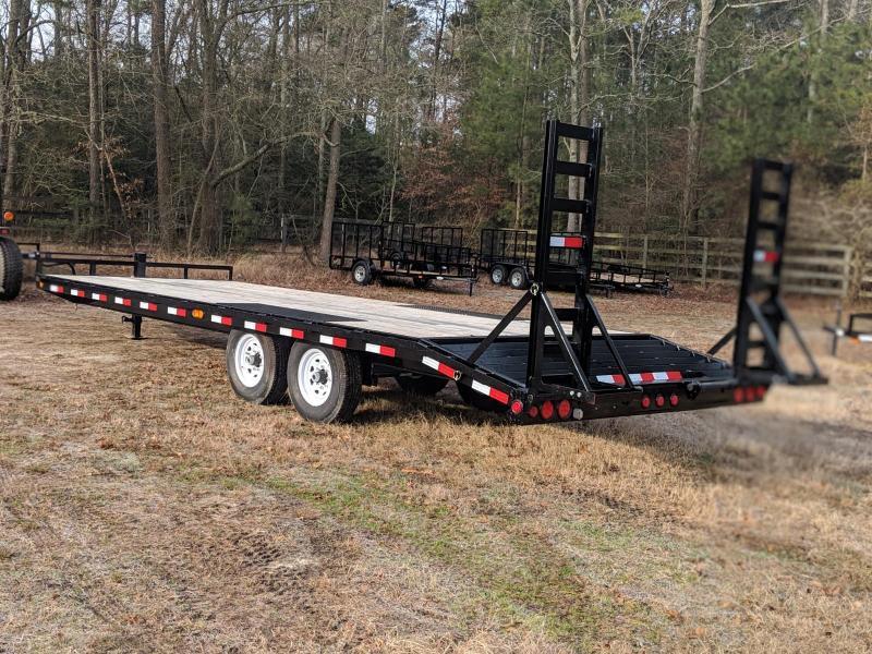 2020 PJ Trailers F824' Equipment Trailer