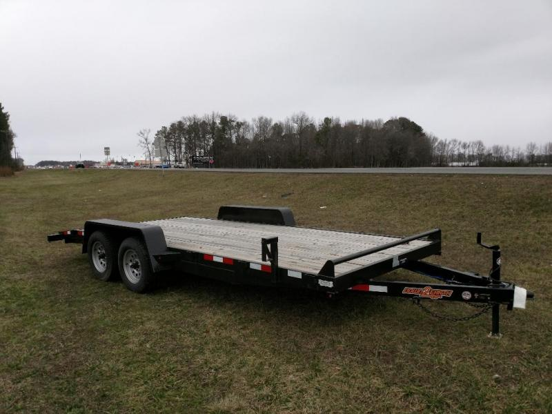 2018 Down 2 Earth Trailers 18'CH Equipment Trailer