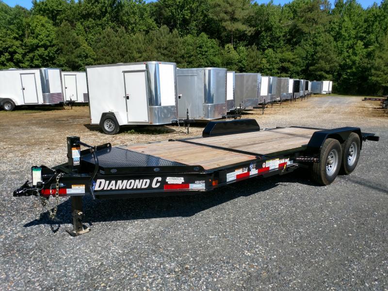 2019 Diamond C Trailers HDT 18ft Partial Tilt Equipment Trailer