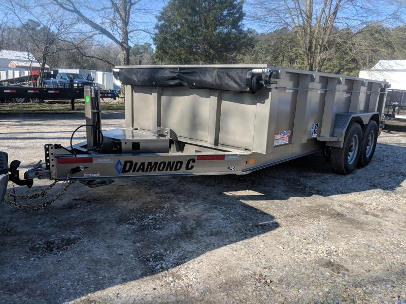 2020 Diamond C Trailers LPD 14 Dump Trailer
