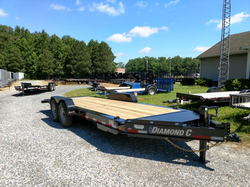2019 Diamond C Trailers HDT 20ft Tilt Equipment Trailer