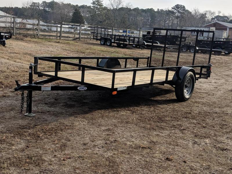 2020 American Manufacturing Operations (AMO) 76X14 Utility Trailer
