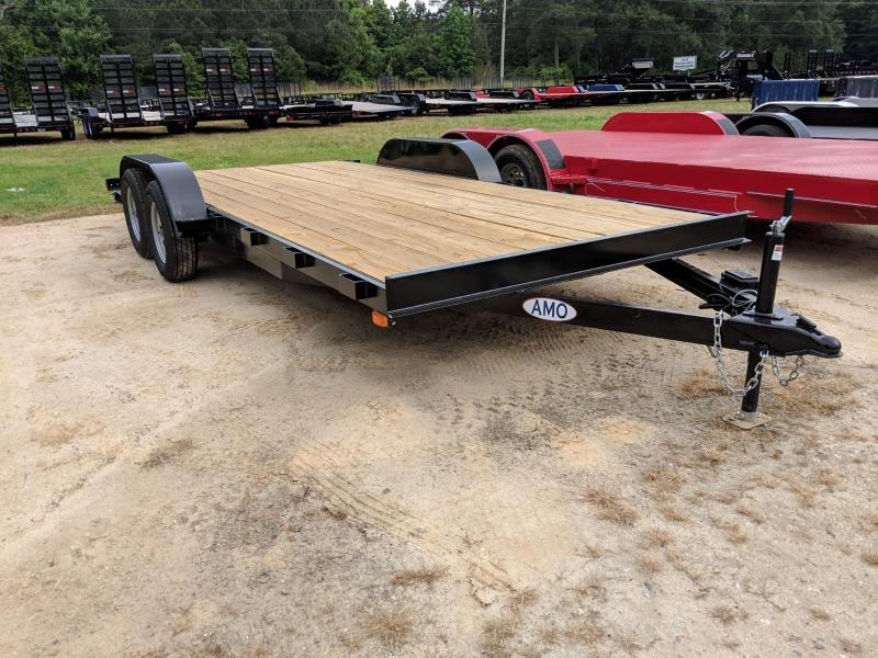 2019 American Manufacturing Operations (AMO) 18WFCH Equipment Trailer