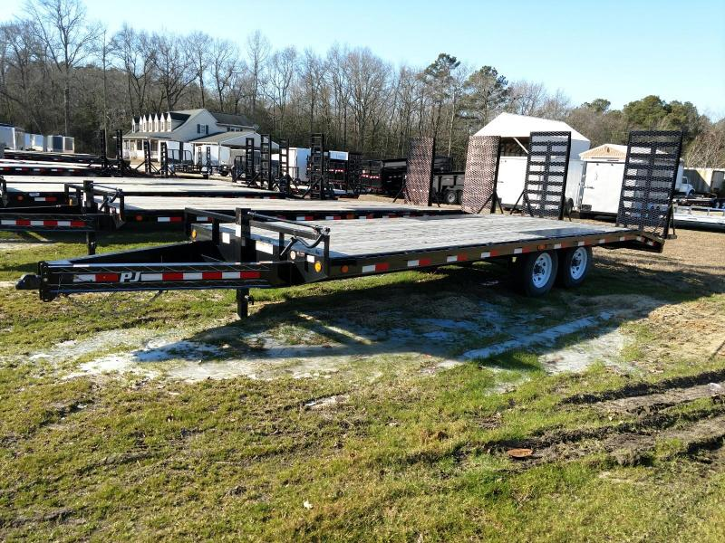 2020 PJ Trailers F8 22' Equipment Trailer