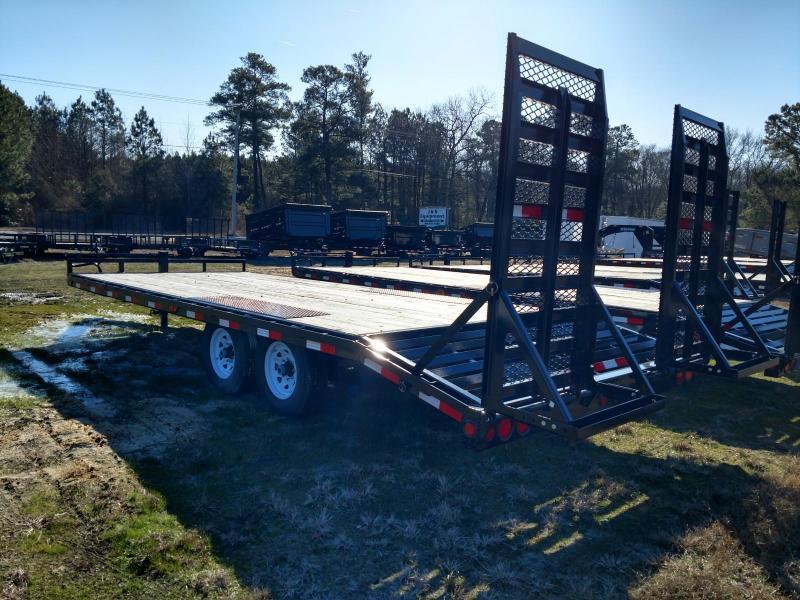 2020 PJ Trailers F8 22' Equipment Trailer