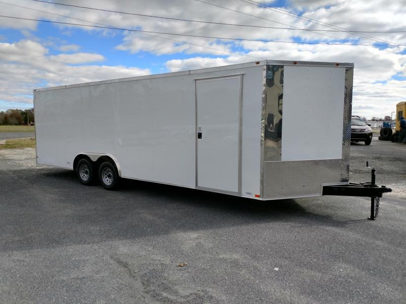 2019 Empire Cargo 8.5x24 7k Enclosed Cargo Trailer