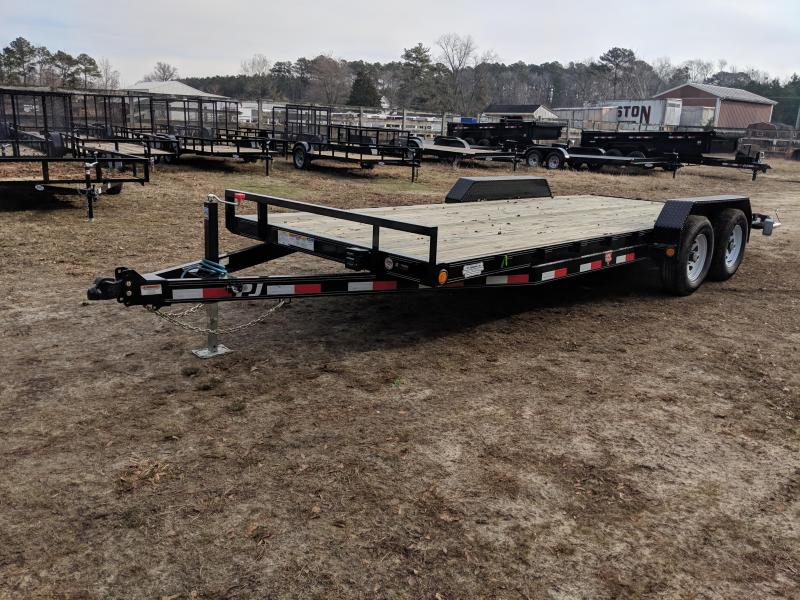 2020 PJ Trailers CE 20' Equipment Trailer