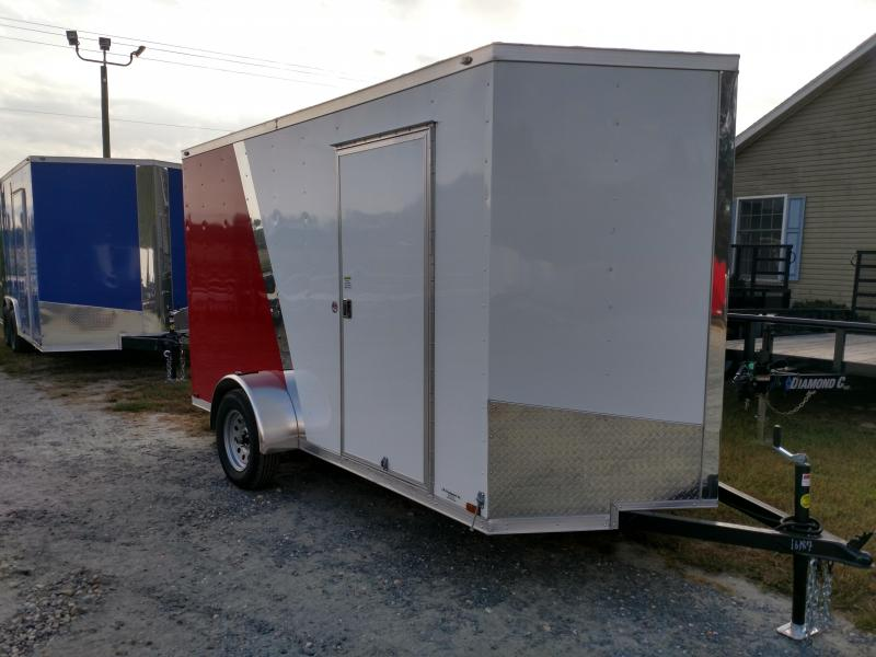 2020 Spartan 6x12 SA Two-Tone Enclosed Cargo Trailer