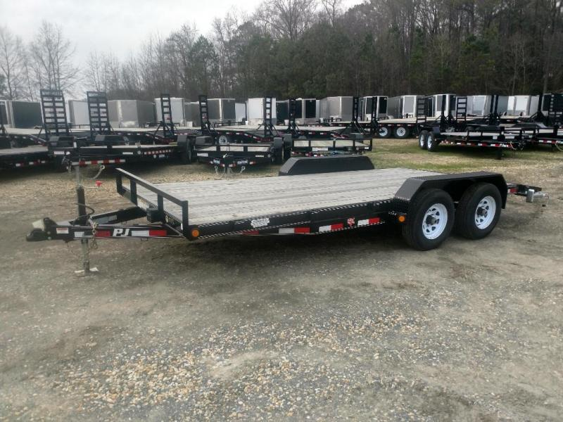 "2019 PJ Trailers 18' x 5"" Channel Equipment Trailer"