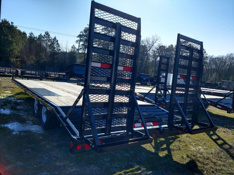 2020 PJ Trailers F8 24' Equipment Trailer