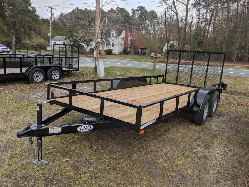 2020 American Manufacturing Operations (AMO) 76X16 Utility Trailer