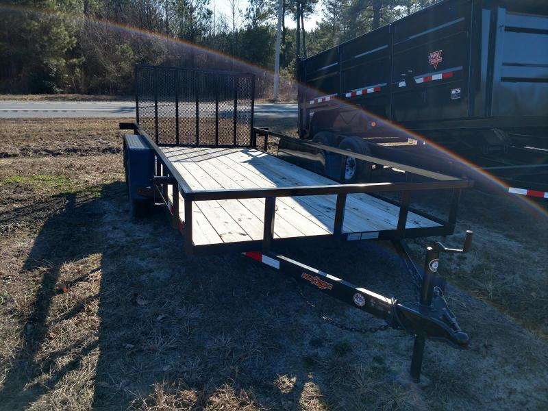 2018 Down 2 Earth Trailers 76X16 Utility Trailer