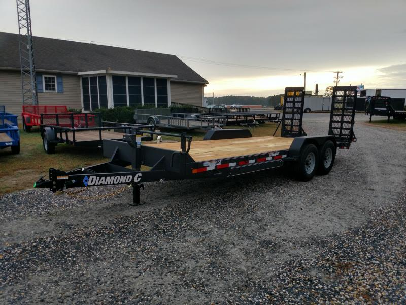 2020 Diamond C Trailers 20 EQT Equipment Trailer