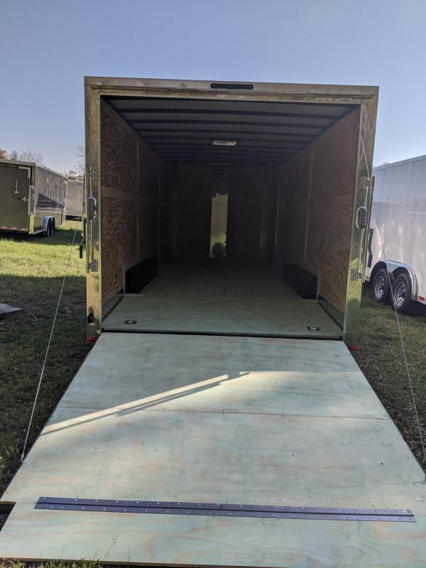 """2020 Arising 8.5x20 10k 6""""up Enclosed Cargo Trailer"""