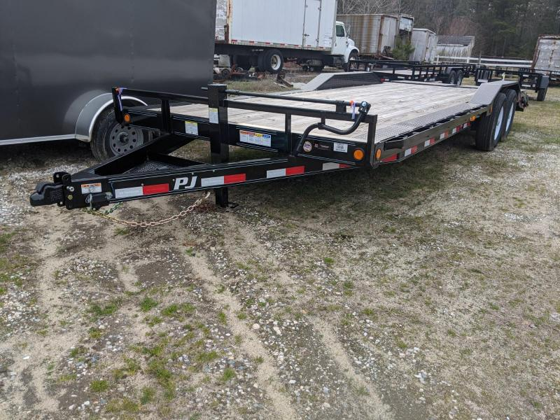2020 PJ Trailers B6 24' Equipment Trailer
