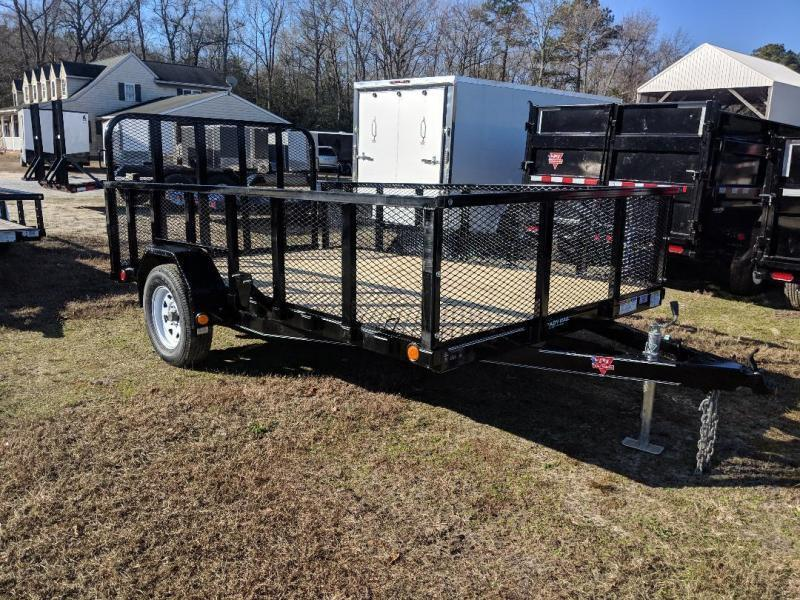 "2020 PJ Trailers 12' x 83"" Sngl Axle Channel Utility Trailer"