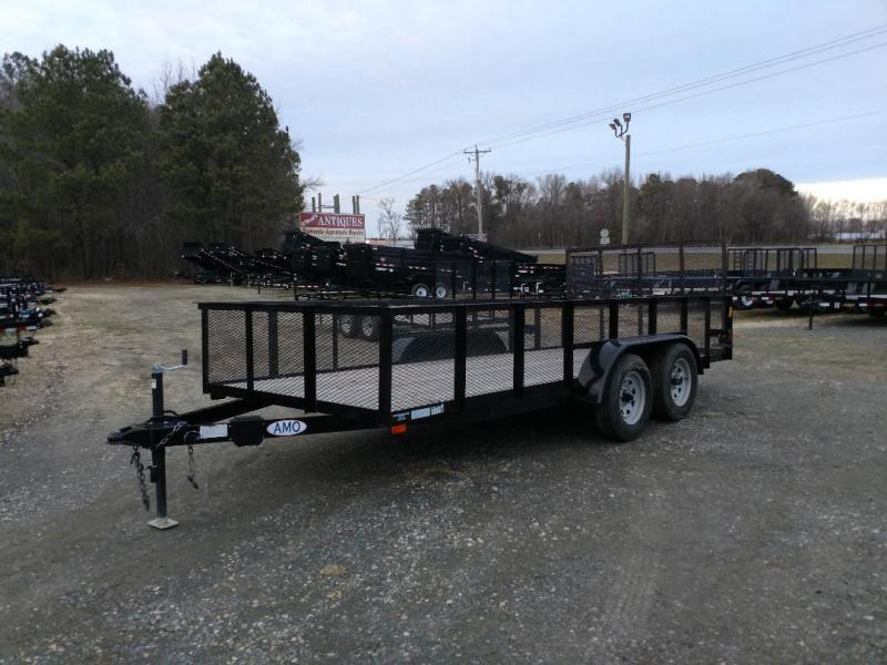 2019 American Manufacturing Operations (AMO) 76X16 Utility Trailer